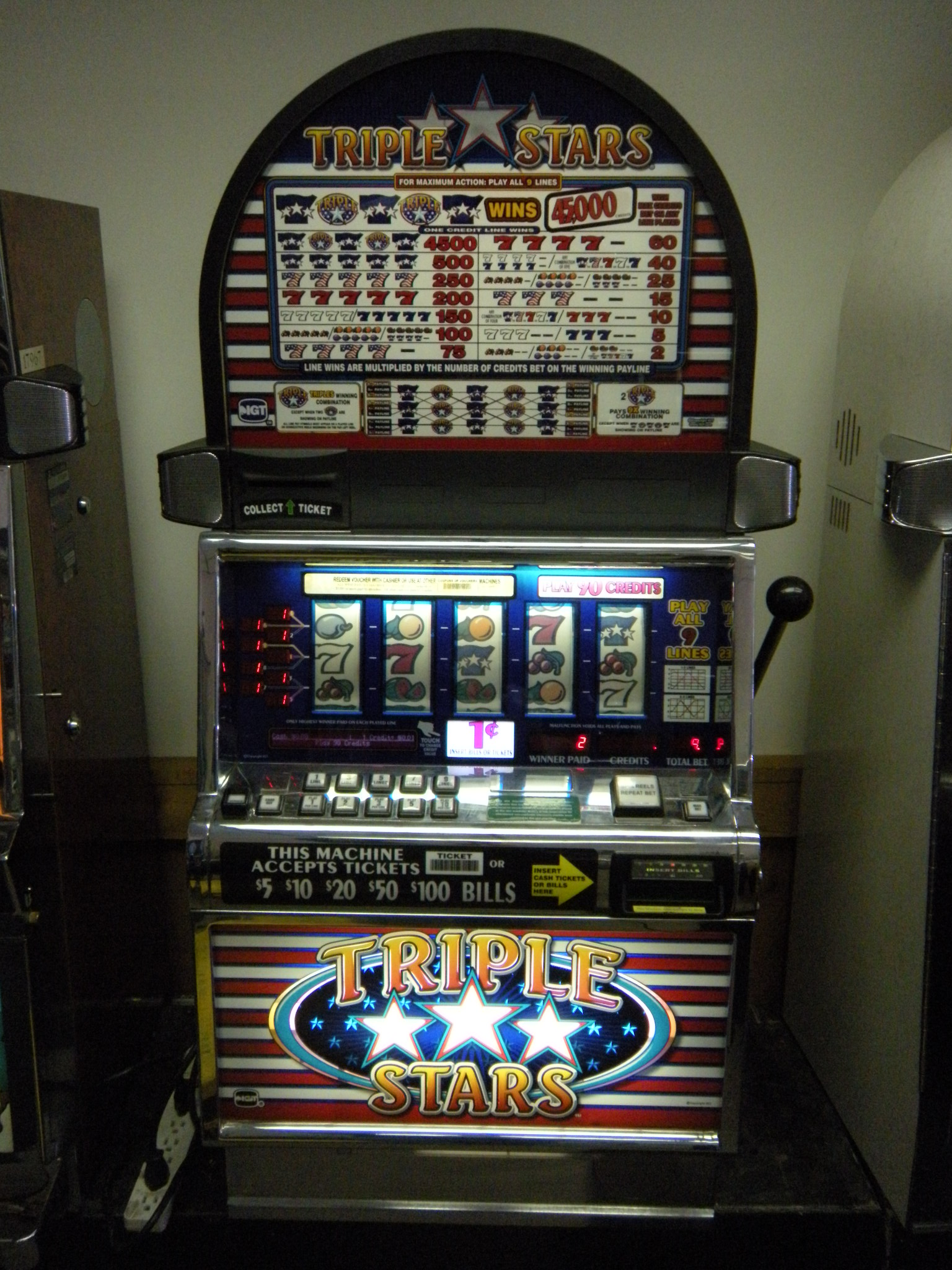 slot machine reels