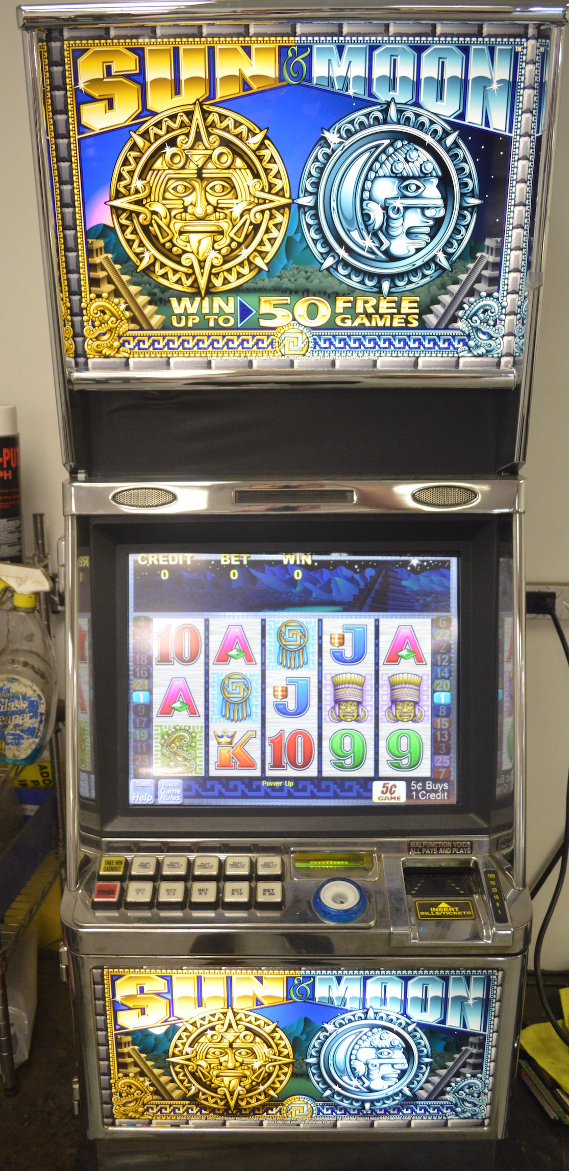 Moon Slot Machine