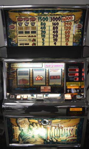 Mummy slot machine