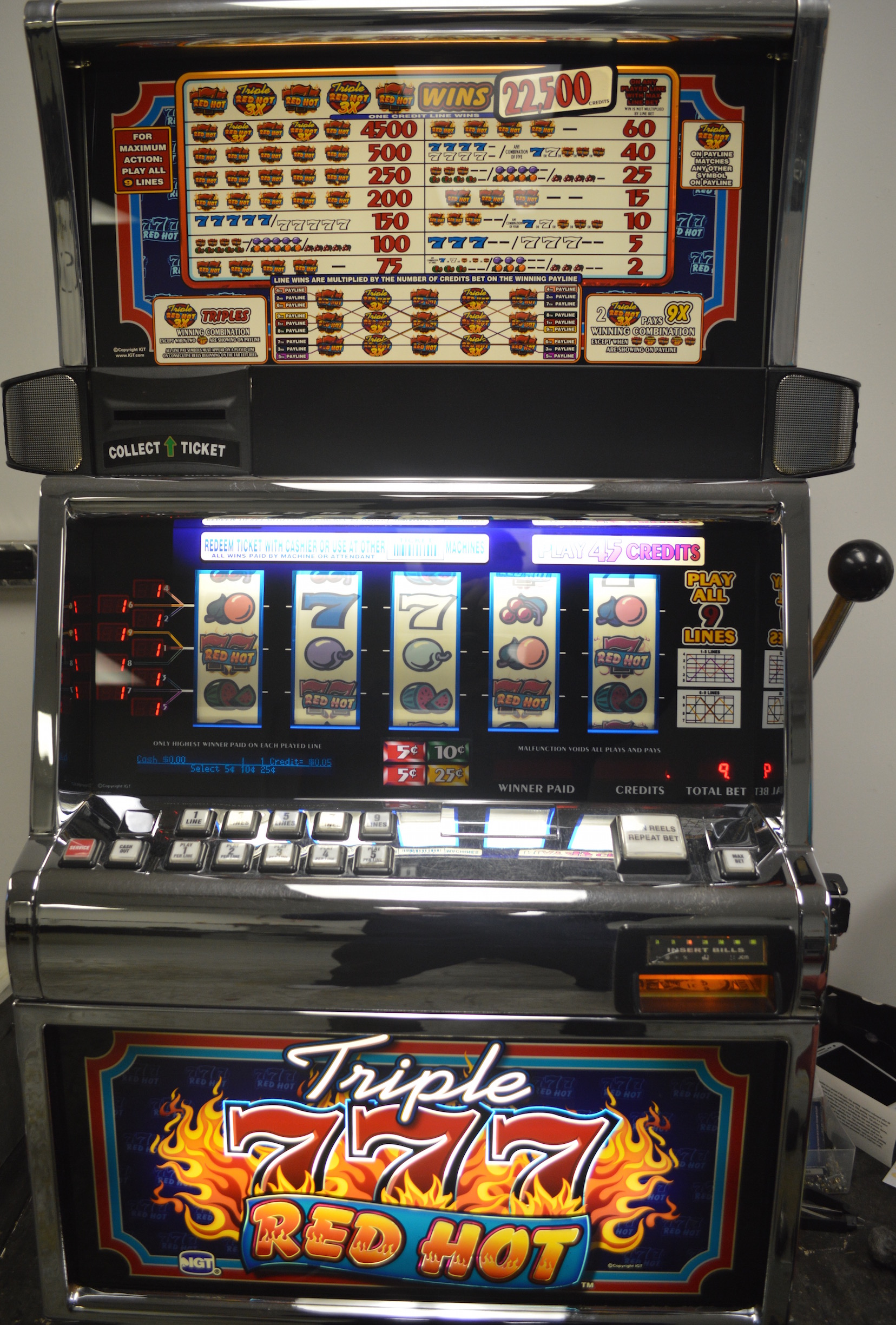 v slot c n c machine