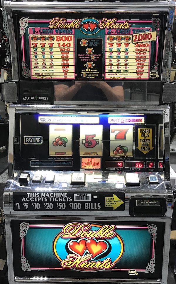 Double Hearts slot machine