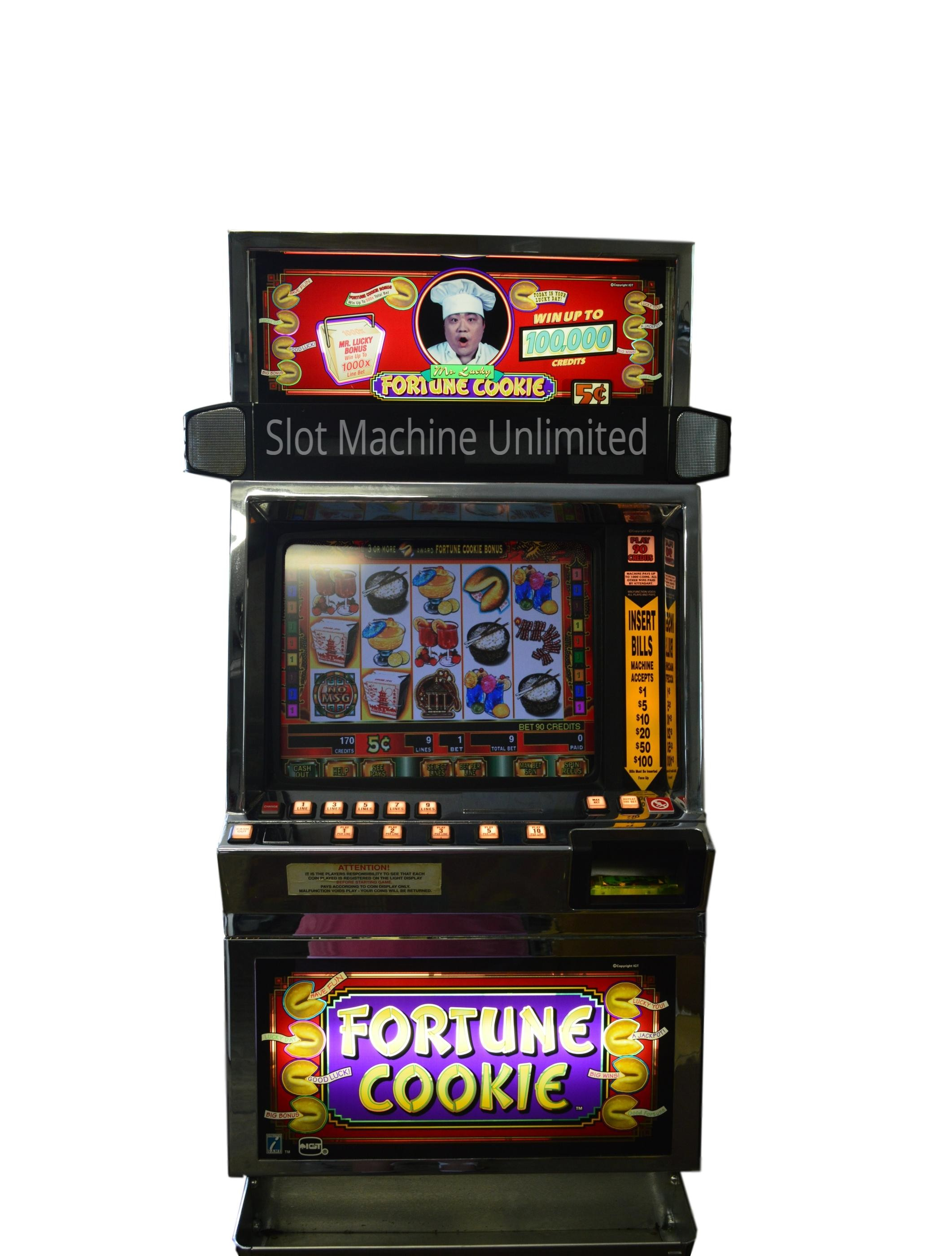 Fortune Cookie Slot Machine
