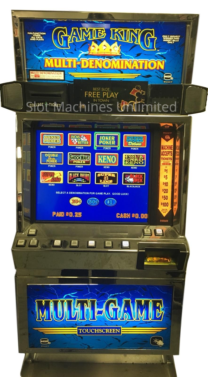 Hd slots machines