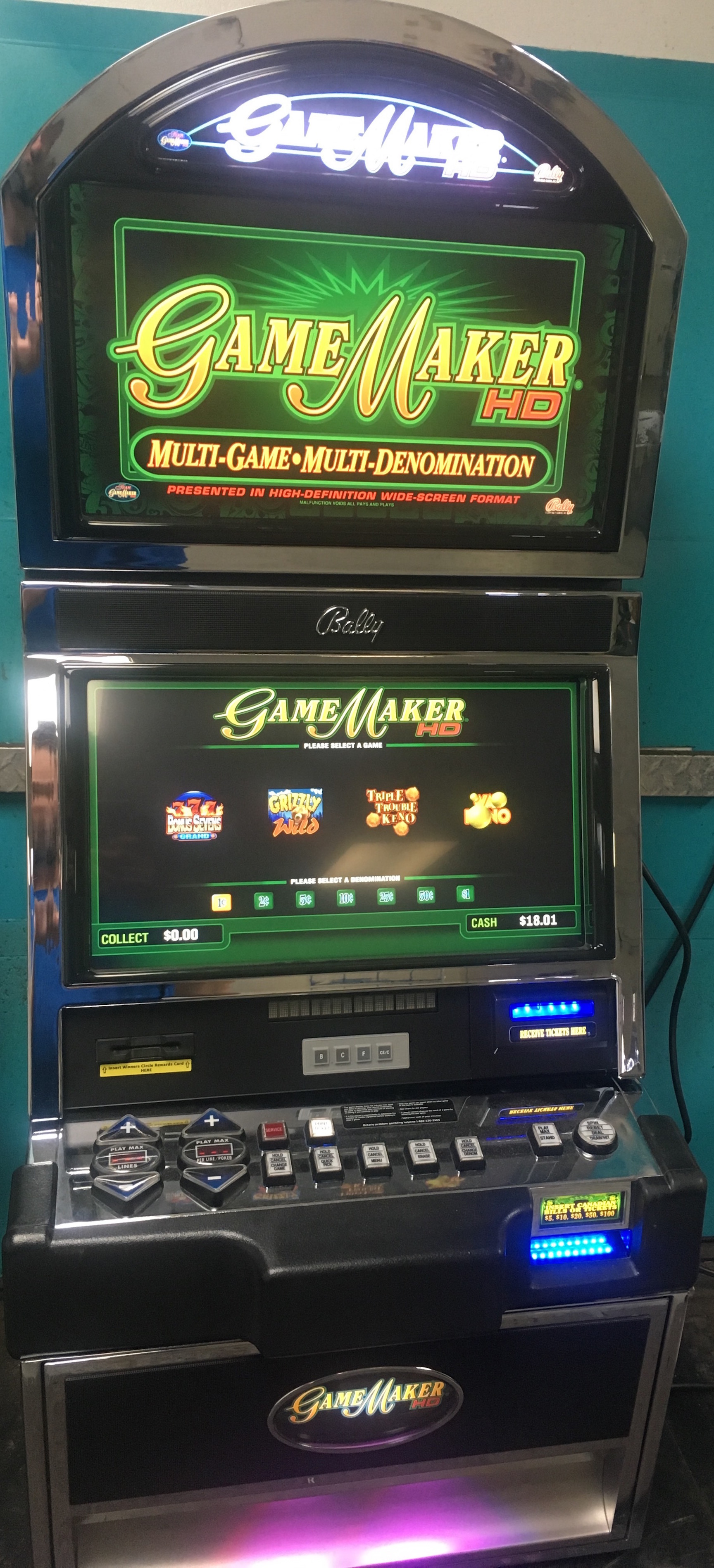 Bally Gamemaker Hd Slot Machines Unlimited