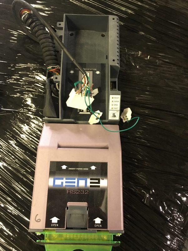 Gen 2 printer RS232