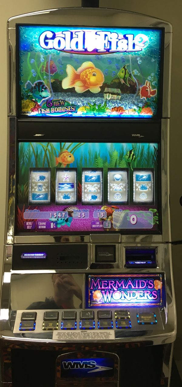 Gold fish 2 slot machines unlimited for Fish slot machine