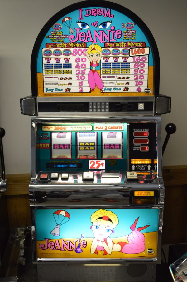 I Dream of Jeannie slot machine