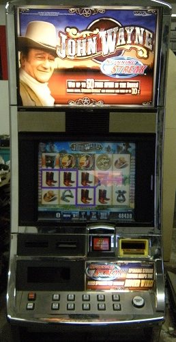 John Wayne slot machine