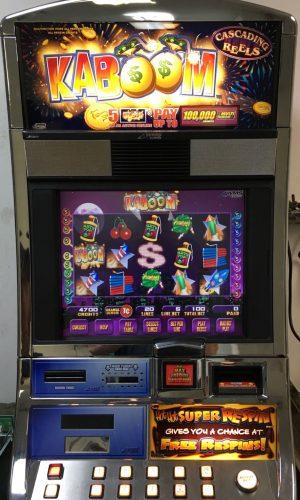 Kaboom slot machine