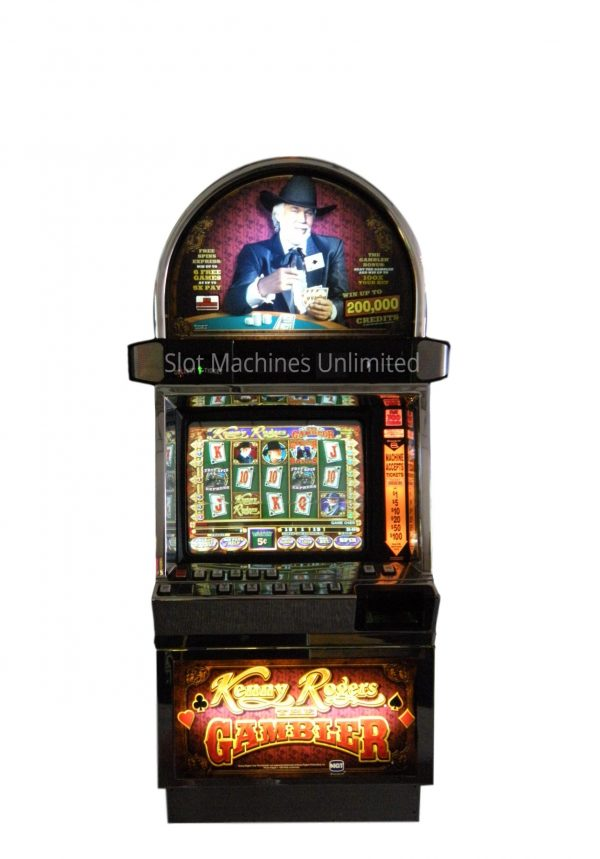 Kenny Rogers the Gambler slot machine