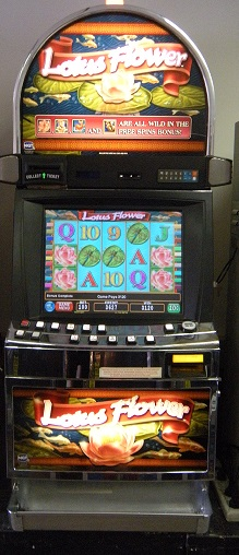 Lotus Flower video slot machine
