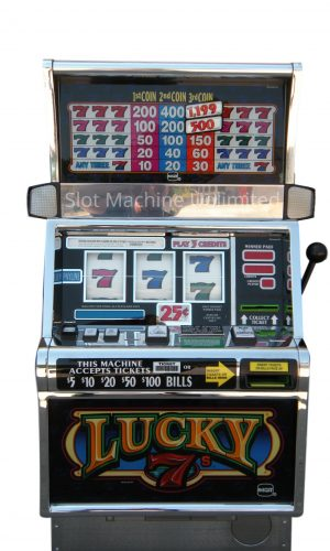 Lucky 7s slot machine