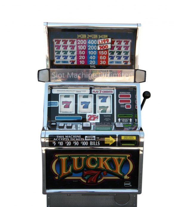Lucky 7s slot machine