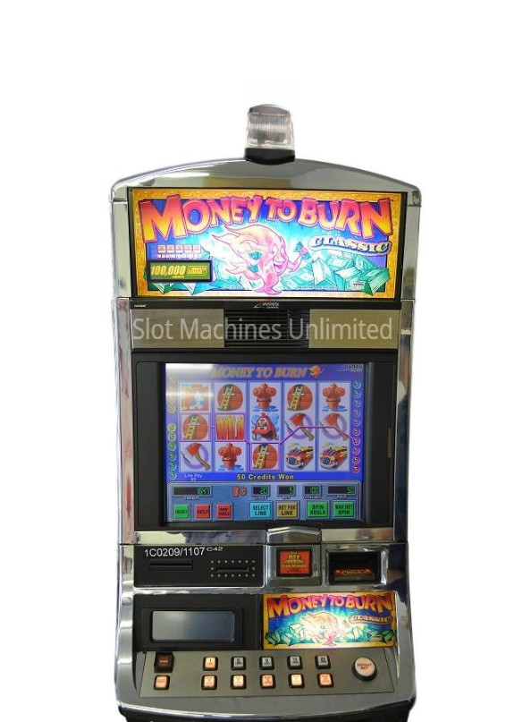 Money to burn slot machine