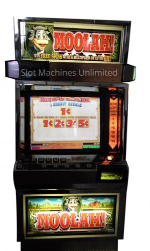 Moolah slot machine