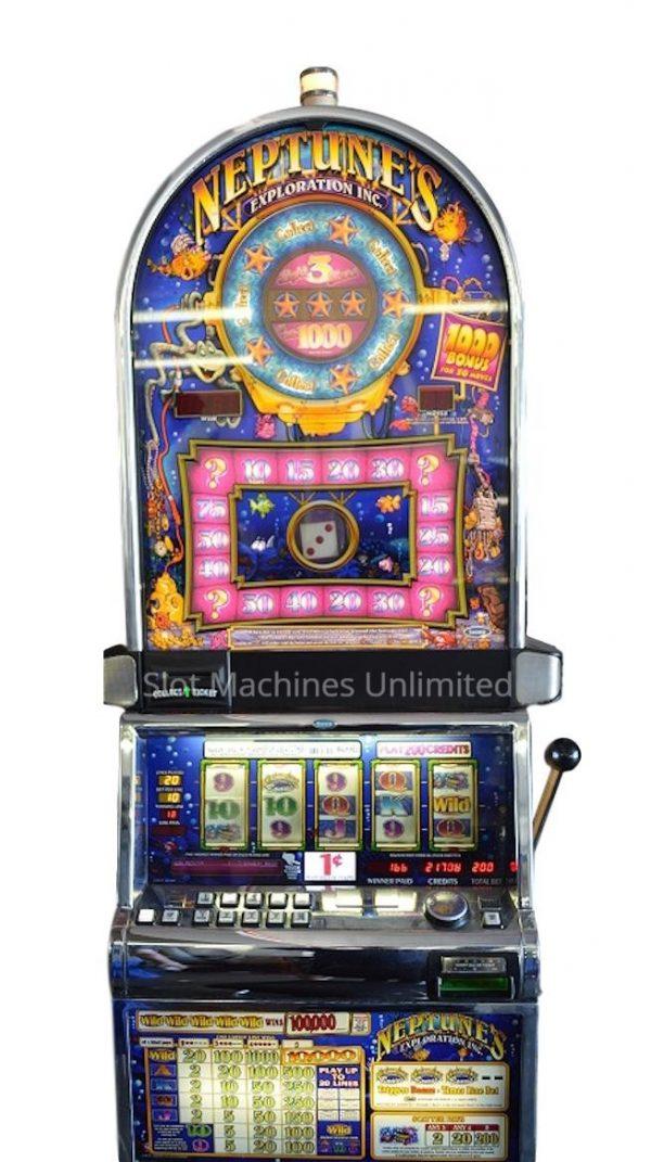 King Neptune's Exploration slot machine