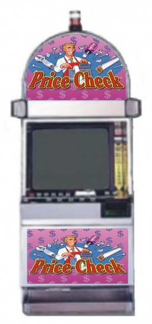 Price check slot machine