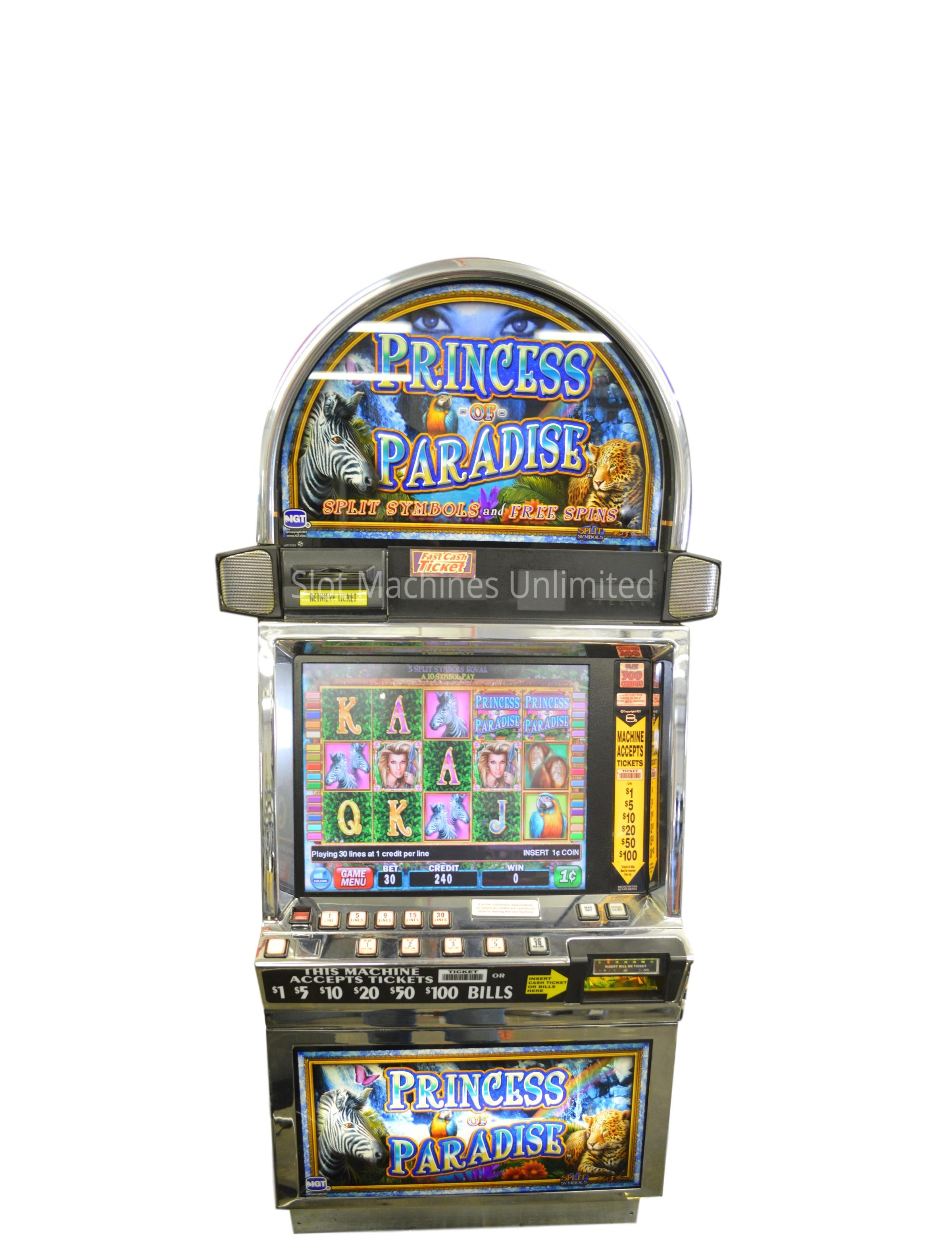 Princess Of Paradise Slot Machine