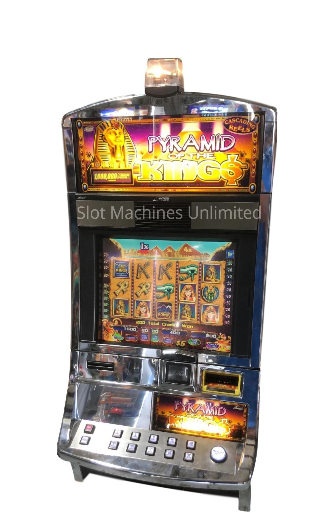 Pyramid Of The Kings Slot Machine