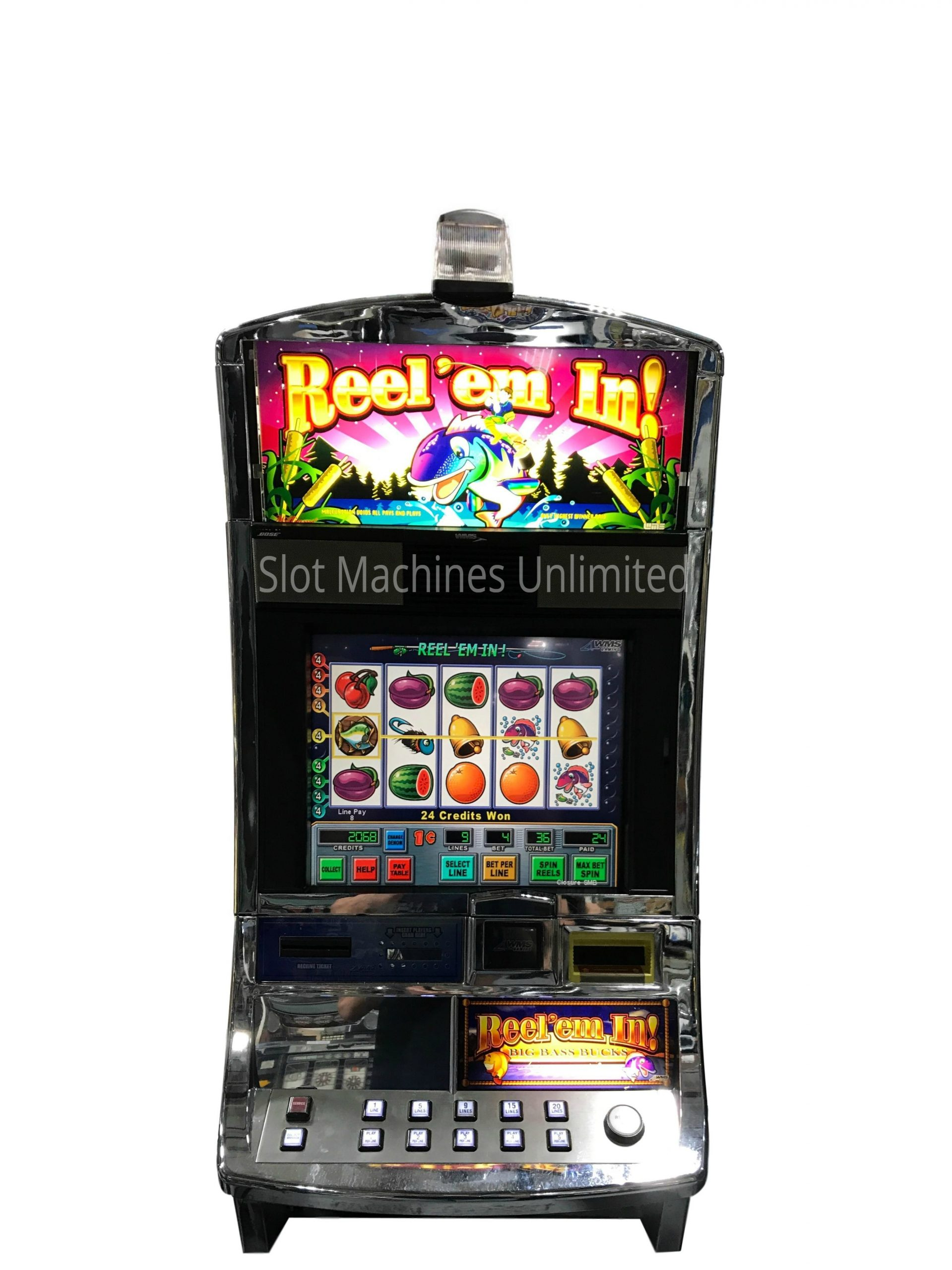 Reel Em In Slot Machine