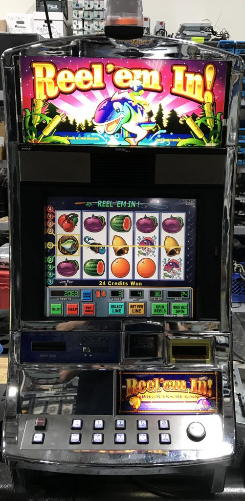 Reel Em In Slot Machine Slot Machines Unlimited