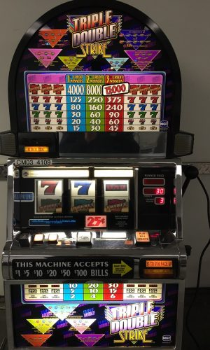 Triple Double Strike slot machine
