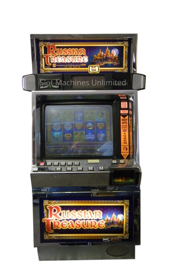 Russian Treasures slot machine