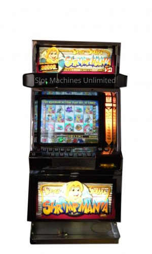 Super Sally's Shrimpmania slot machine
