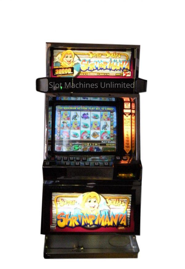 Super Sally's Shrimpmania slot machine