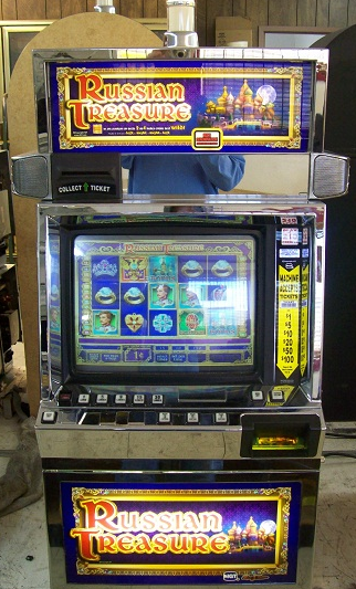 Russian Treasure video slot machine