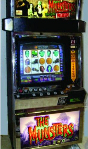 The Munsters video slot machine