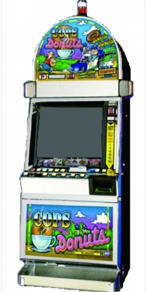 Cops and Donuts video slot machine