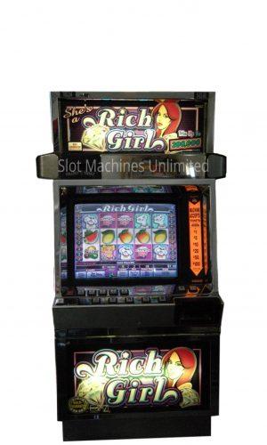 She's a Rich Girl slot machine