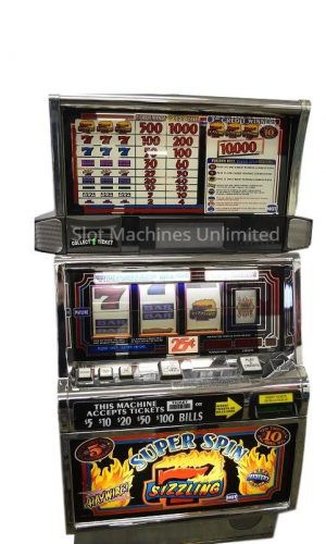Super Spin Sizzling 7 slot machine