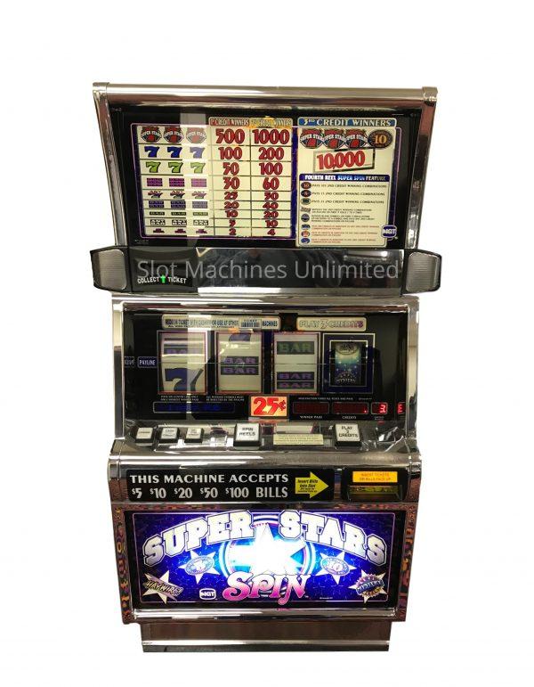 Super Star Spin slot machine