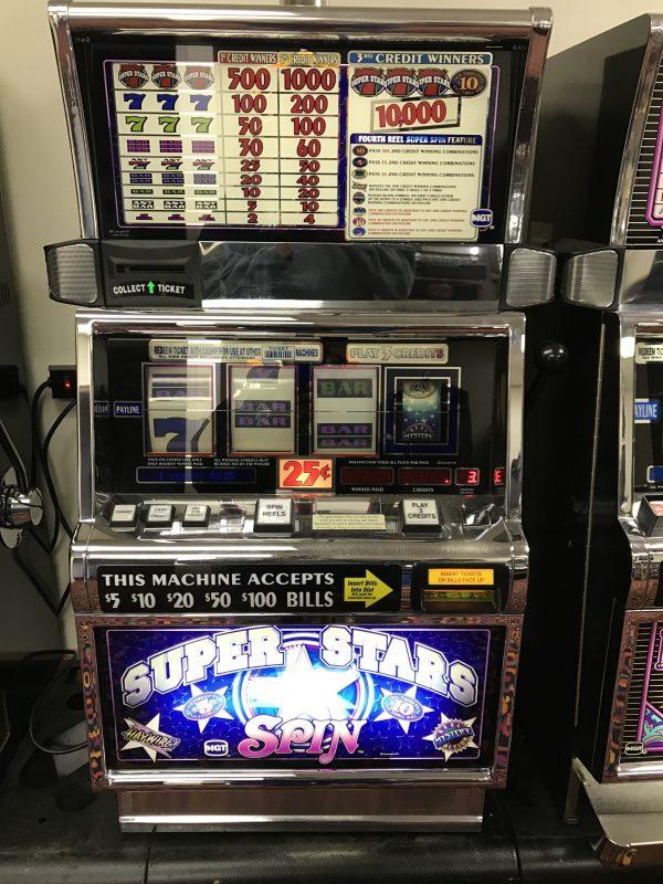 Super Stars Spin slot machine
