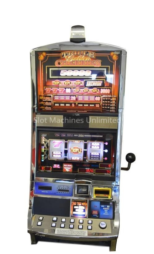 Triple Golden Cherries slot machine