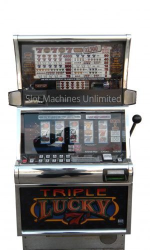 Triple Lucky 7s slot machine