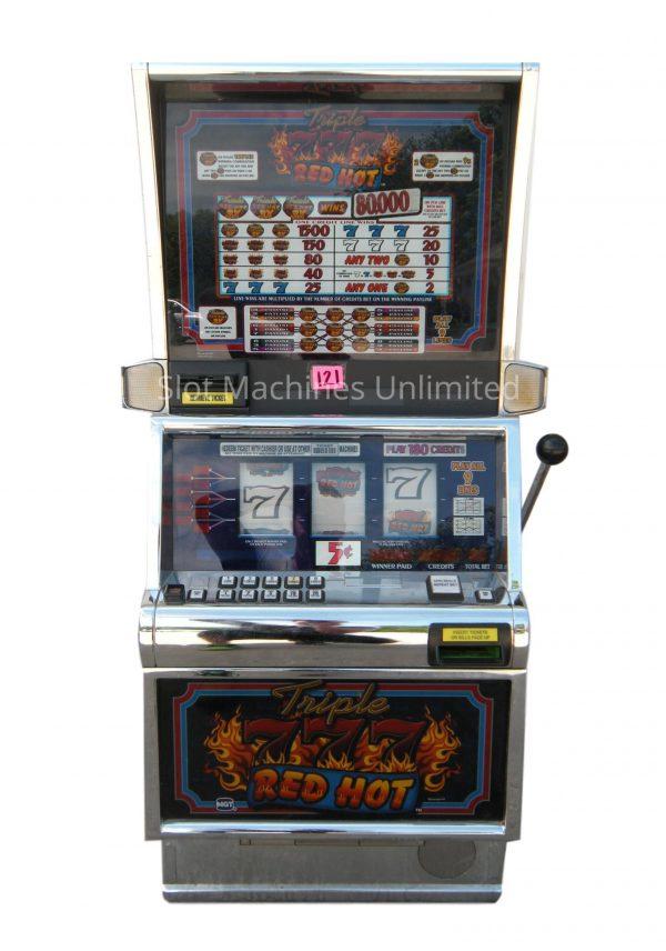 Triple Red Hot 7s slot machine