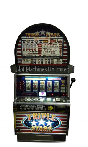 Triple Stars slot machine