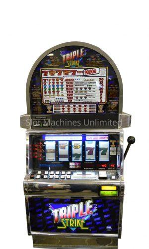 Triple Strike slot machine