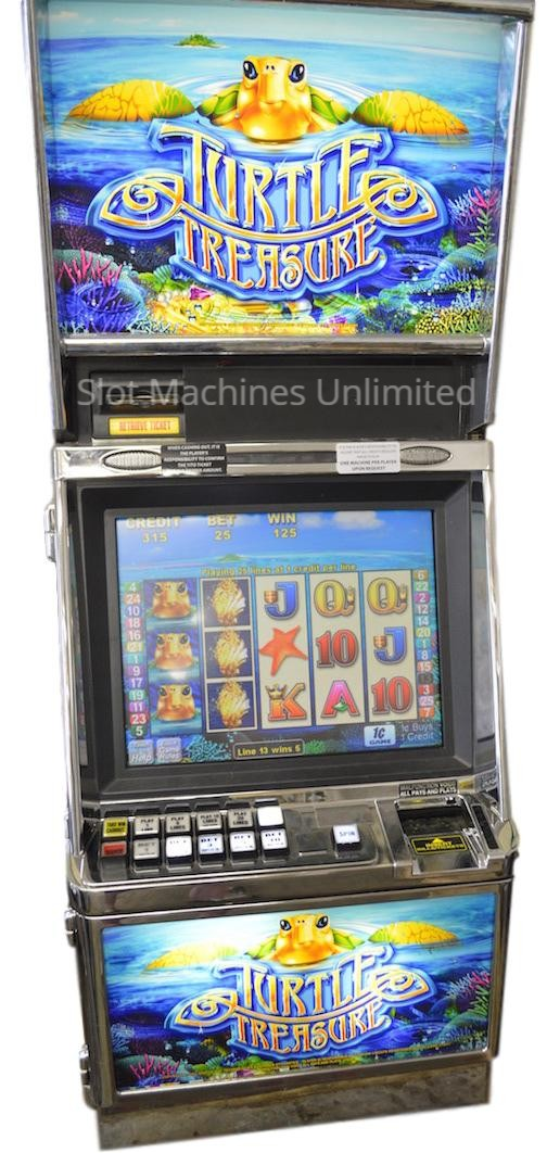 Turtle Treasures slot machine