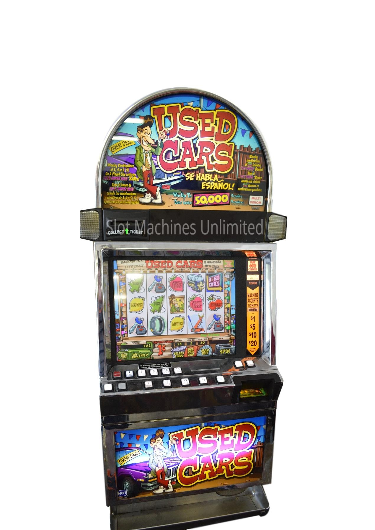 Used Poker Machines