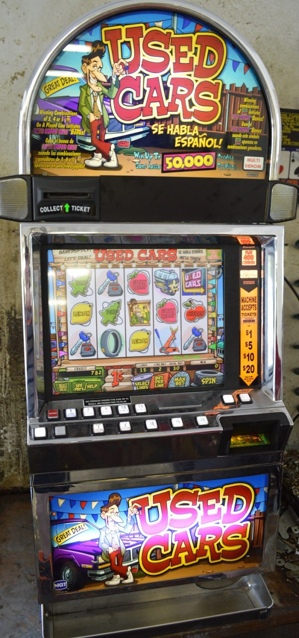 Used Cars video slot machines