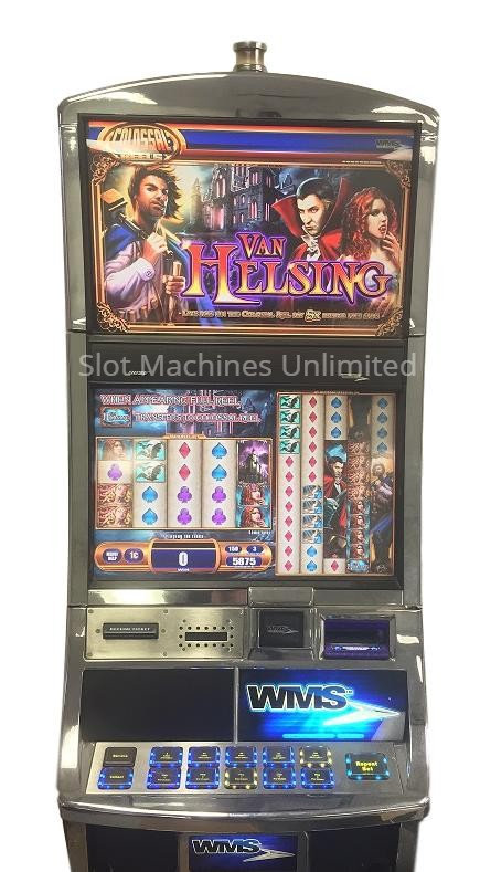 Van Helsing slot machine