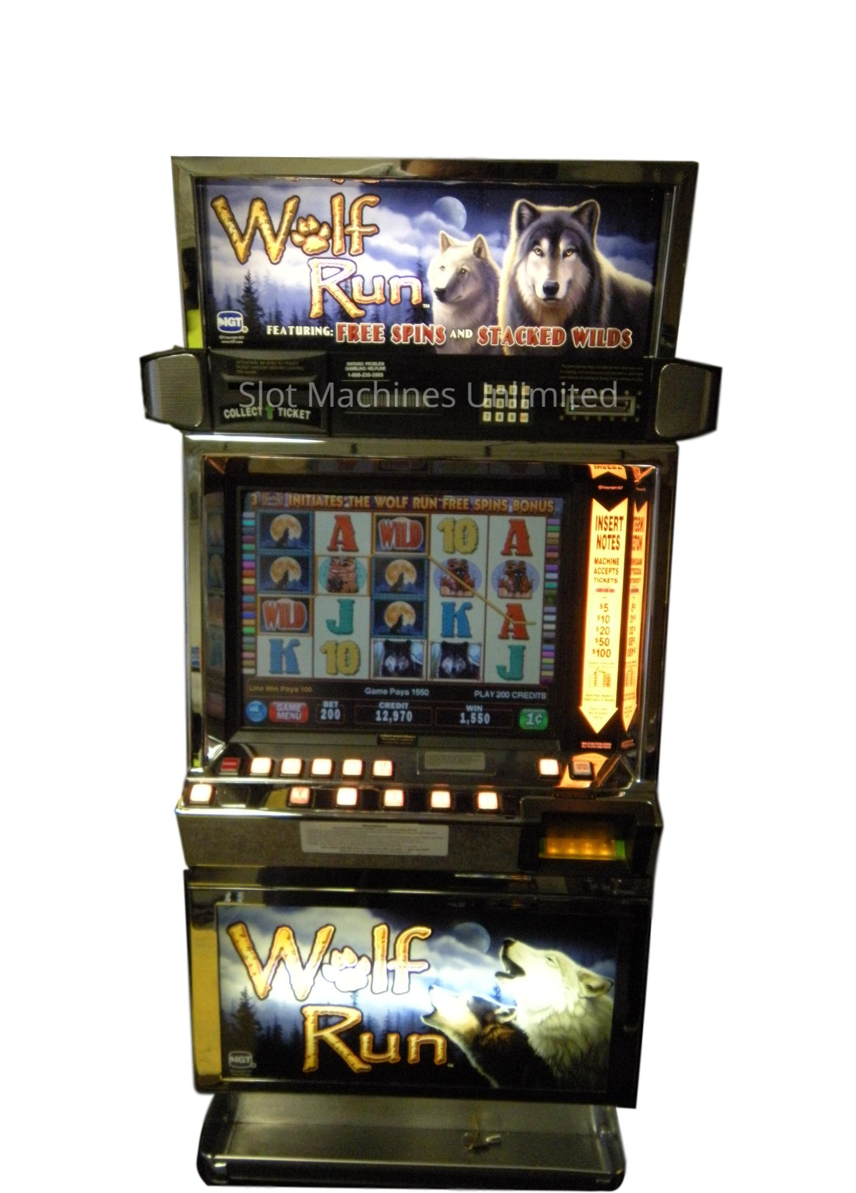 Wolfrun Slot Machine