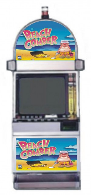 Beach Comber video slot machine