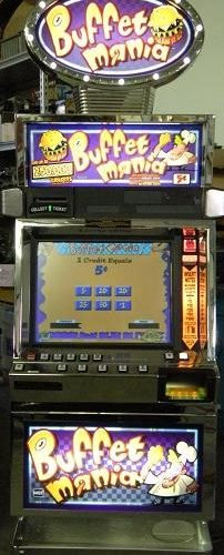 Buffet Mania video slot machine