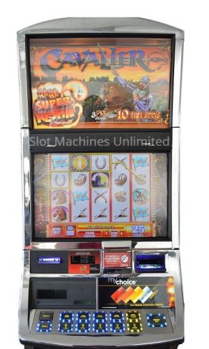Cavalier slot machine