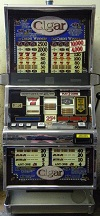 Cigar slot machine